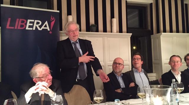 Aan tafel met Rik Van Cauwelaert