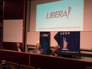 Libera debat Paul De Grauwe Lex Hooghuis