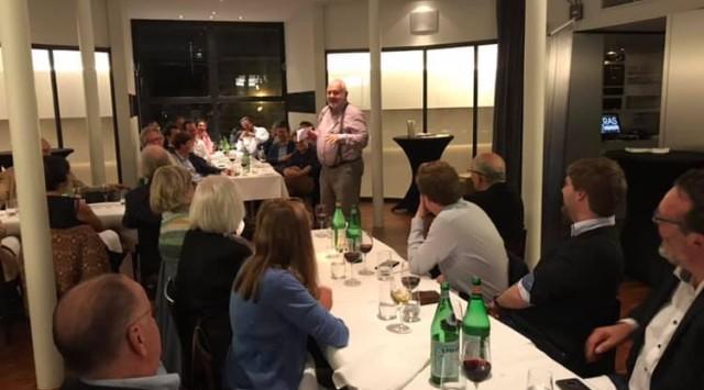 Diner met Jean-Marie Dedecker