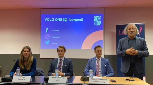 Liberalisme-debat met LVSV in Gent