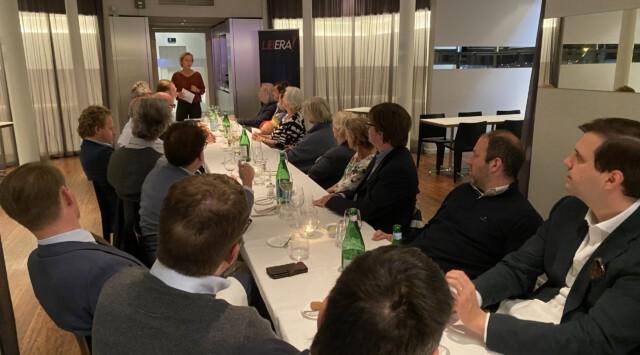 Diner met Annick De Ridder